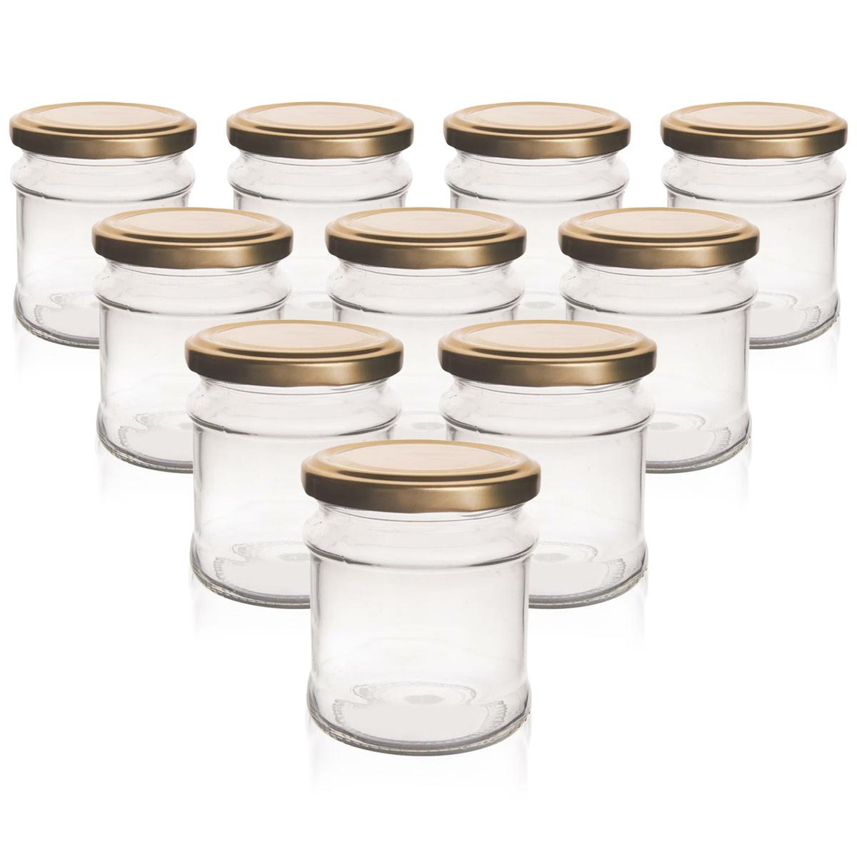 Orion Sada zaváracích pohárov s viečkom Deva 0,212 l, 10 ks