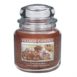 Village Candle Vonná svíčka Skořicový koláč - Cinnamon Bun, 397 g