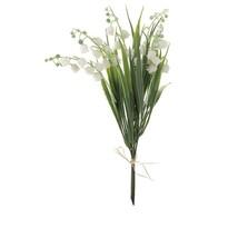 Kwiat sztuczny Bukiet konwalii, 28 cm