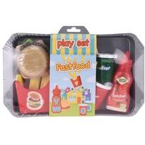 Koopman Set de joacă pentru copii Fastfood