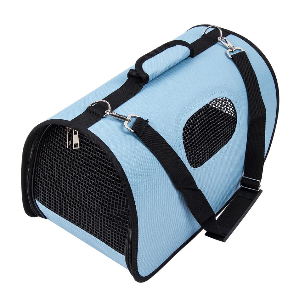 Transportní taška na domácího mazlíčka, modrá