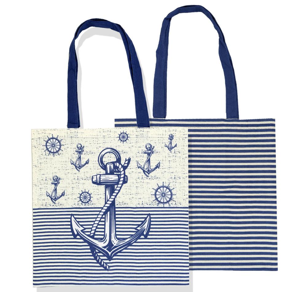 Trade Concept Nákupní taška Navy, 40 x 42 cm