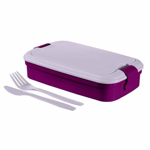Curver Svačinový box LUNCH&Go, fialová