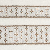 Ručník Vanesa bílá, 50 x 90 cm