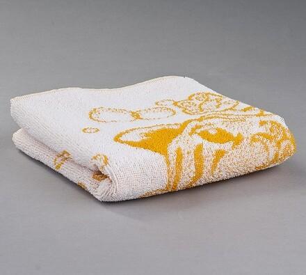 Dětský froté ručník Tygřík, oranžový, 45 x 75 cm