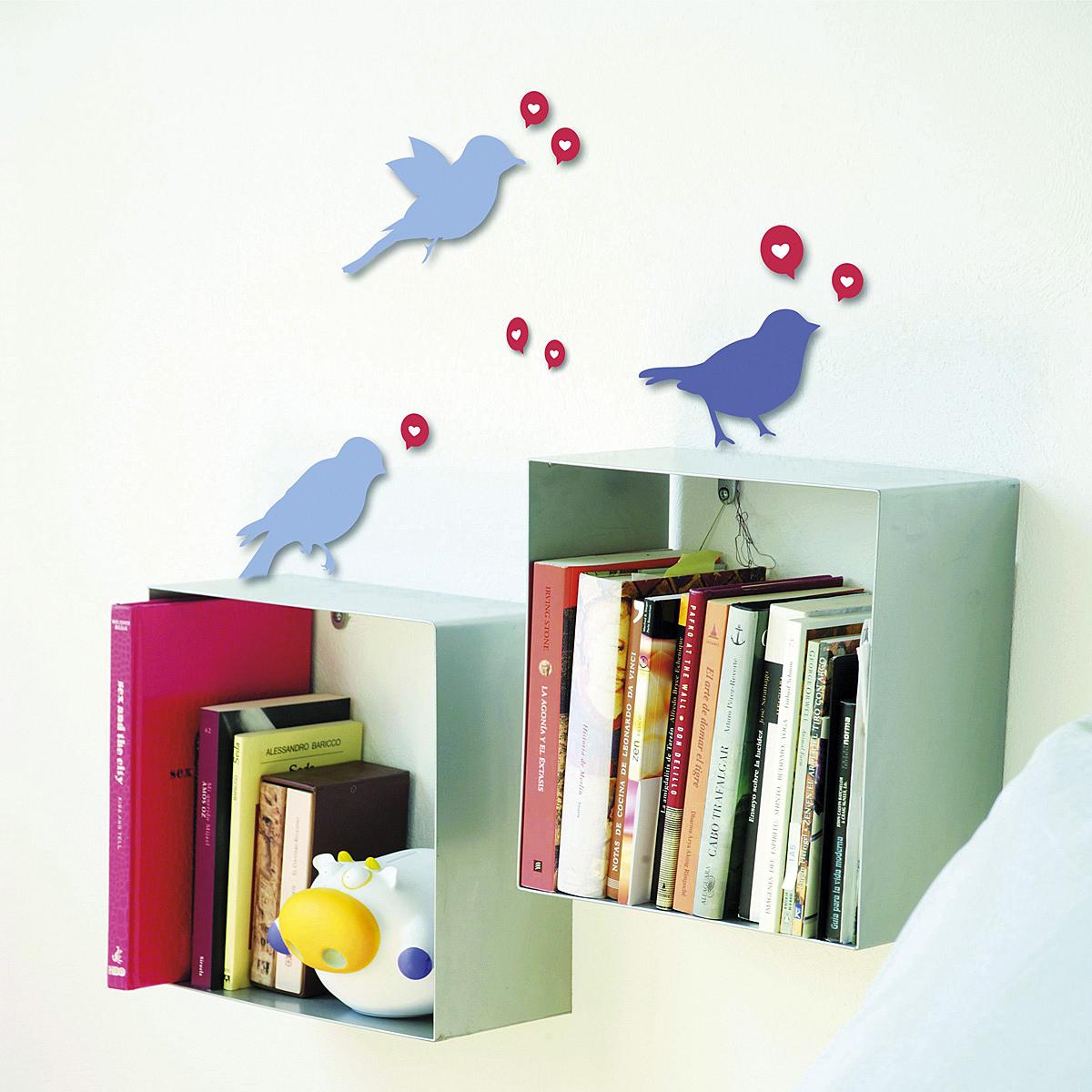 Samolepiaca dekorácia Vtáčiky, Hornschuch