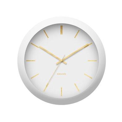 Karlsson KA5840WH Dizajnové nástenné hodiny, 40 cm