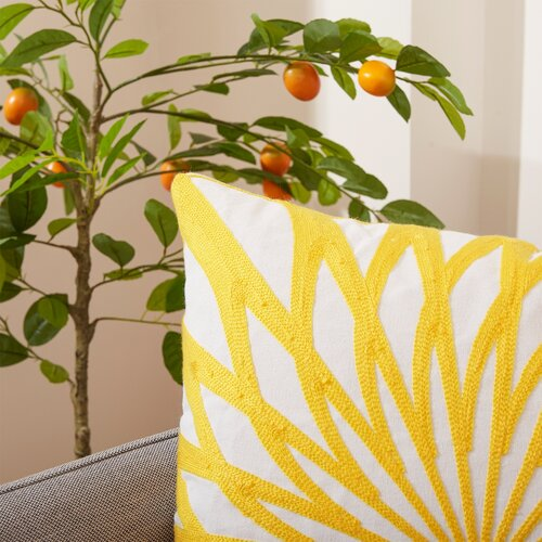 4Home párnahuzat Sunny Flower, 45 x 45 cm