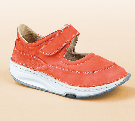 Orto Plus Sandále s plnou špičkou veľ. 41 červené