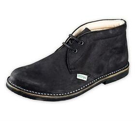 Pánská kotníčková obuv, černá, 42