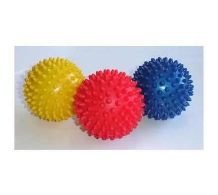 Masážní míček, 7,5 cm, vícebarevná, pr. 7,5 cm