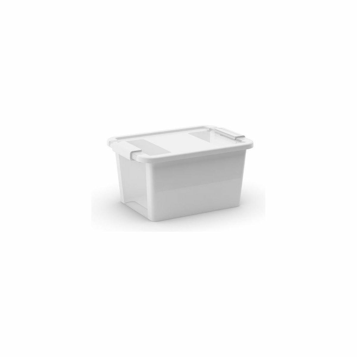 KIS Cutie depozitare Bi Box S, 11 l, albă imagine 2021 e4home.ro