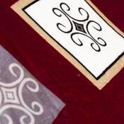 Pościel pluszowa Lord winny, 140 x 200 cm, 70 x 90 cm