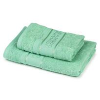4Home Komplet Bamboo Premium ręczników mentol, 70 x 140 cm, 50 x 100 cm