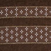Ručník Vanesa hnědá, 50 x 90 cm