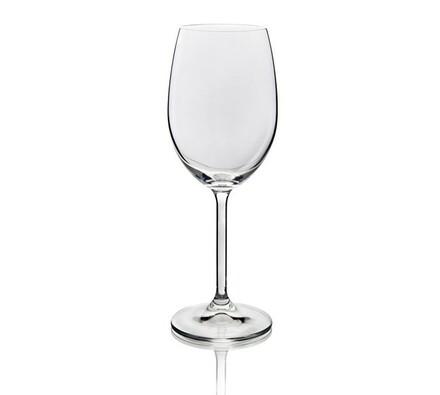 Sklenice Crystal Banquet na bílé víno 350 ml, 6 ku