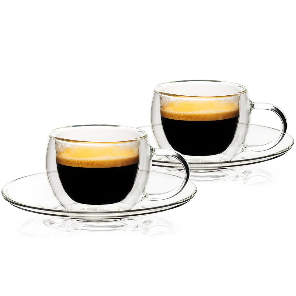4home Termo pohár na espresso Style Hot&Cool, 80 ml, 2 ks