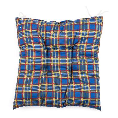 Sedák kostička modrá, 40 x 40 cm
