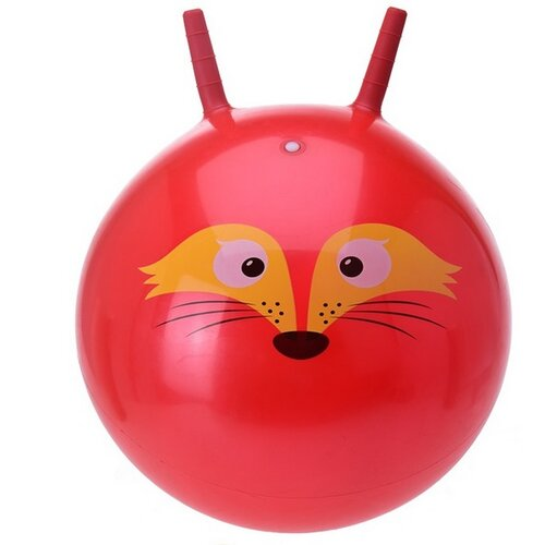 Dětský skákací míč, červená