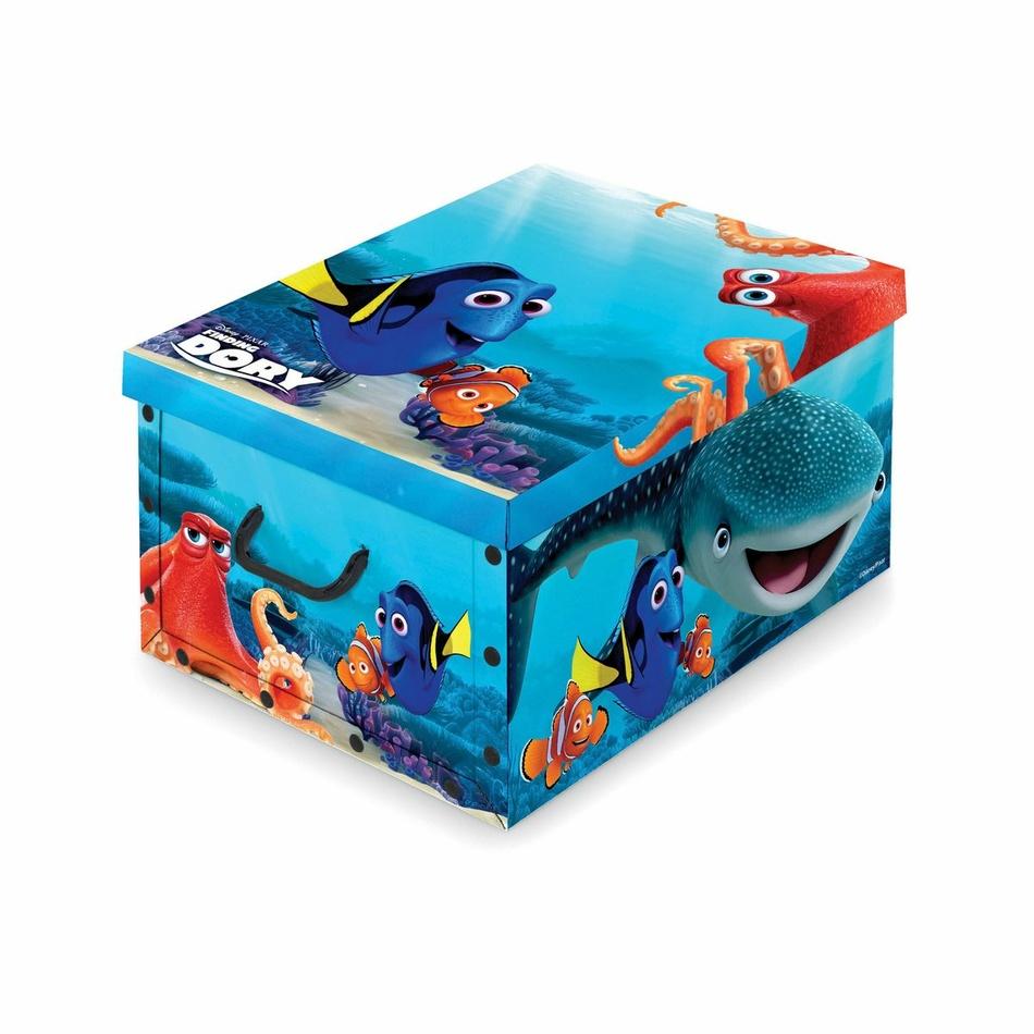 Domopak Living Úložný box s rukojetí Disney Dory, 39 x 50 x 24 cm