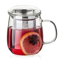 4Home Kubek na herbatę z sitkiem Hot&Cool  330 ml