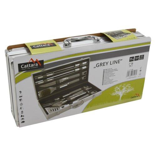 Cattara Grey Line Grillező eszközök, 11 db