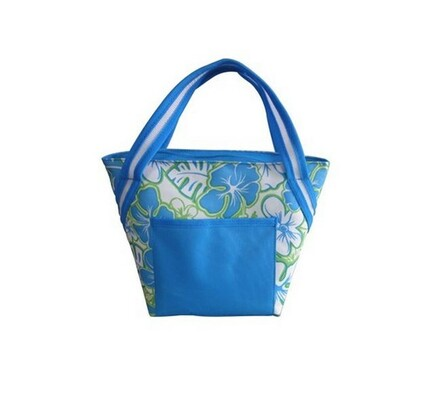 Chladící taška, modrá + zelená, 8 l, Vetro Plus, modrá + zelená