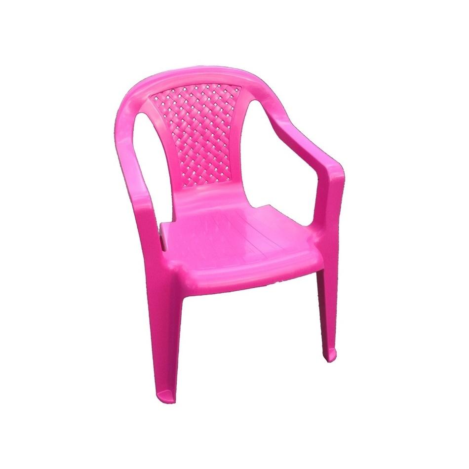 Dětská židle, růžová