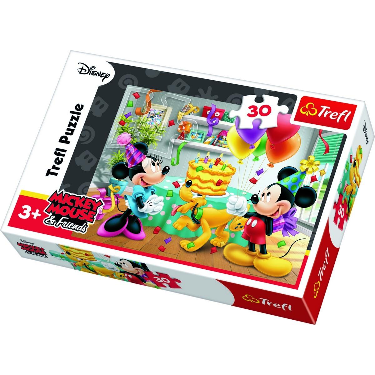 Trefl Puzzle Mickey Mouse: Oslava 30 dílků