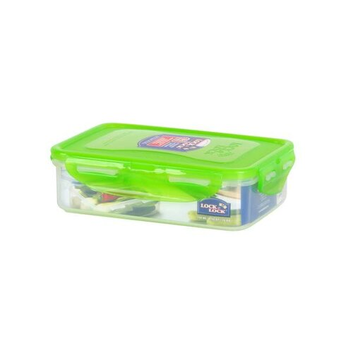 Lock & Lock Plastová dóza na potraviny 550 ml, sv. zelená