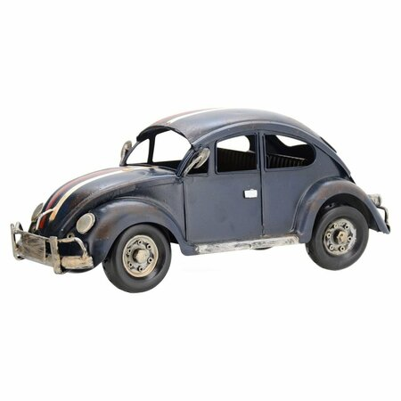 Model decorativ automobil Broască, albastru