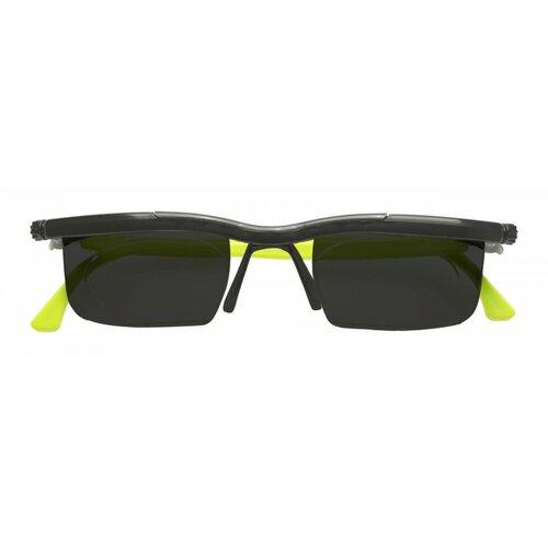 Nastavitelné dioptrické sluneční brýle Adlens, zelená