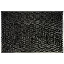 Covoraș din cauciuc Emma negru, 40 x 60 cm