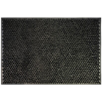 Wycieraczka gumowa Emma czarny, 40 x 60 cm