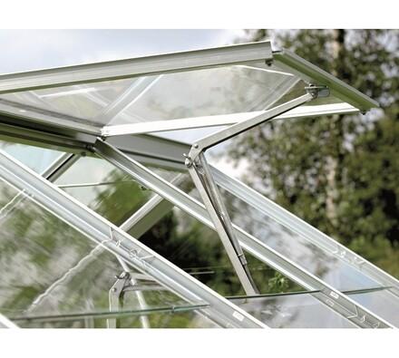 LanitPlast Venus ventilačné strešné okno pre skleníky  60 x 60 cm