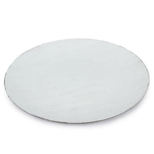 Dekorační talíř krémová, 40 cm