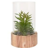 Koopman dekoratív műnövény-elrendezés, Pampa, 23 cm