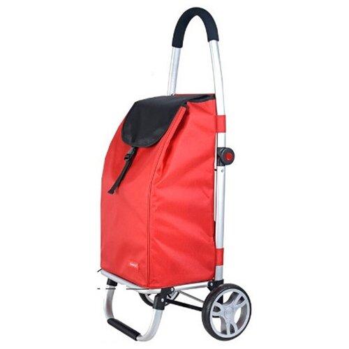 BRILANZ Nákupná taška na kolieskach Carrie, červená