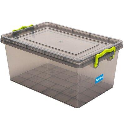 Plastikowy pojemnik do przechowywania 15,5 l, szary