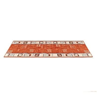 Kobercový běhoun, terrakota, 80 x 200 cm