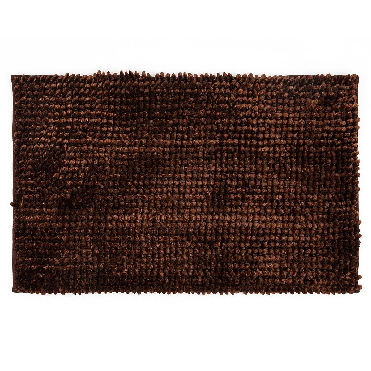 Bo-ma Koupelnová předložka Ella micro hnědá, 50 x 80 cm