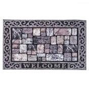 Venkovní rohožka Welcome grey, 46 x 76 cm