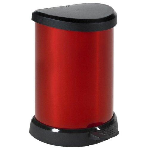 Curver Decobin odpadkový kôš 20 l červená