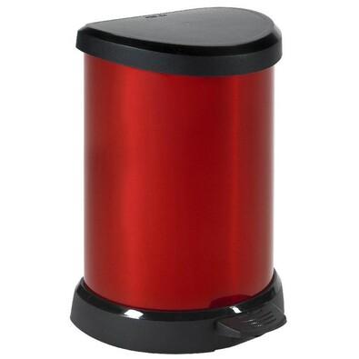 Curver Decobin odpadkový koš 20 l červená