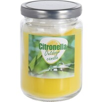 Lumânare repelentă Citronella, cu capac, 245 g