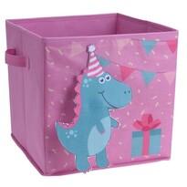 Dinoszaurusz Gyermek tároló doboz, 32 x 32 x 30 cm