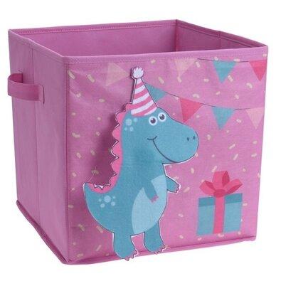 Detský úložný box Dinosaurus, 32 x 32 x 30 cm