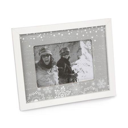 Fotorámeček Love Winter šedá, 20 x 16 cm