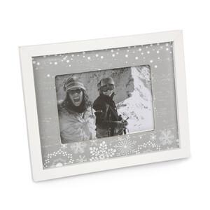 Altom Fotorámeček Love Winter šedá, 20 x 16 cm