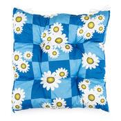 Sedák heřmánek modrá, 40 x 40 cm
